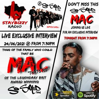 """StayBizzyRadio: Ep.51 #ThrowBackThursday So Solid Crew Mac Exclusive Interview Hosted By """"Itz Ya Boi"""" Jay R"""