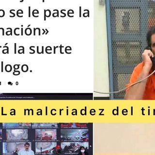 La malcriadez del Tirano Escuche Así amanece Venezuela martes #19Oct 2021