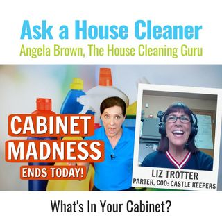 What's In Your Cabinets? Organization Tips with Liz Trotter