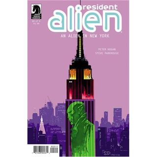 Weekly Comic Recommends American Alien  An Alien in New York #2, Venom #1 & more