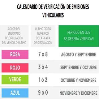 Próximo lunes reinician verificaciones vehiculares en CDMX