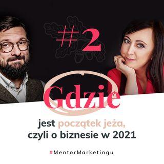 #2 Gdzie jest początek jeża, czyli o biznesie w 2021 | Miłosz Brzeziński