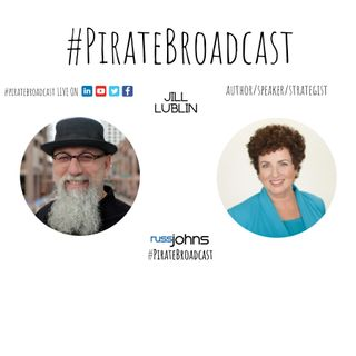 Catch Jill Lublin on the PirateBroadcast