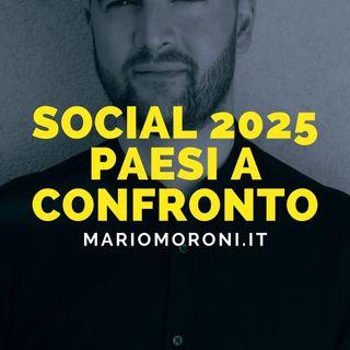 Quante persone usano social network nei vari Paesi: il confronto 2020-2025