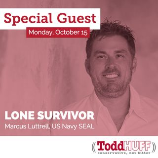 Marcus Luttrell, Retired Navy SEAL and Author of Lone Survivor