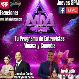 Noches de Salsa con Victor Gabriel -TheMarkyMarcanoShow  Tu Programa de Entrevista Musica y Comedia