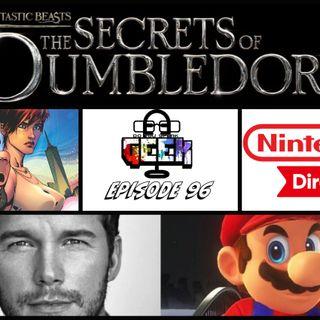 Episode 96 (Marvel Lawsuit, Fantastic Beasts 3, Chris Pratt, Nintendo Direct, and more)