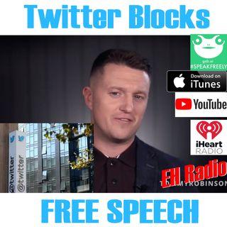 Morning moment Twitter bars FREE SPEECH Mar 29 2018