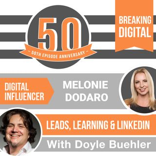 Melonie Dodaro - Leads, Learning & Linkedin