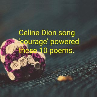 Celine dion Courage Is Alive
