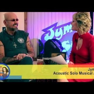 Passion, Energy, Acoustic Music & Painting! An with Jym Syn on the Hangin With Web Show