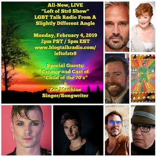 Left of Str8 Show 2019 Episode 9: Cast of Child of the 70's, Zee Machine Music