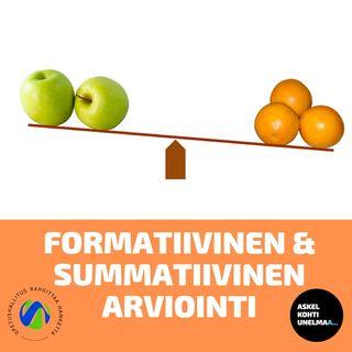 Osa 10: Formatiivinen ja summatiivinen arviointi