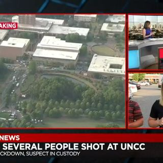 2 dead, 4 injured after shooting on UNC Charlotte campus, officials say #MagaFirstNews w/@PeterBoykin
