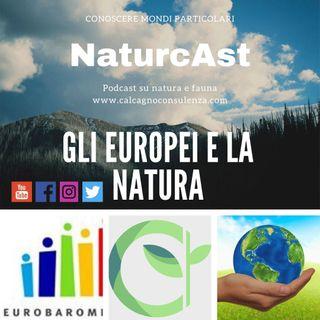 Gli Europei e la natura