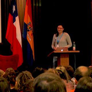 Atómicas: mujeres en informática Usach. Entrevista con Valentina Tombolini.