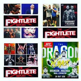 Fightlete Report wTeam Cejudo Frankie Sanchez, Cody Garbrandt's Uncle/Boxing Coach Robert Meese, and Jillian DeCoursey Oct24th 2017