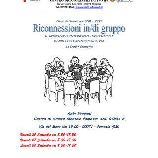 """Corso """"Riconnessioni in/di gruppo"""""""