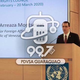 Venezuela insta a la ONU a condenar medidas coercitivas de EE.UU.