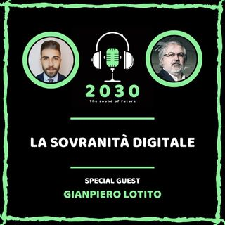 9. La sovranità digitale