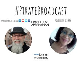 Catch Francelene Aprahamian on the PirateBroadcast
