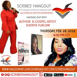 Scribe Hangout welcomes author Sherita Furlow