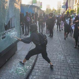 Cada vez son menos violentas las manifestaciones en CDMX