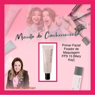 Primer Facial Fixador de Maquiagem FPS 15