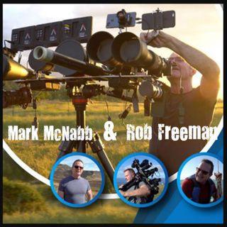 Mark McNabb & Rob Freeman   Researchers/ Documentary films