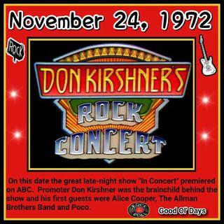 Making the Don Kirshner's Rock concerts