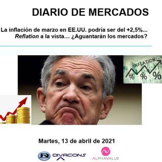 DIARIO DE MERCADOS Martes 13 Abril
