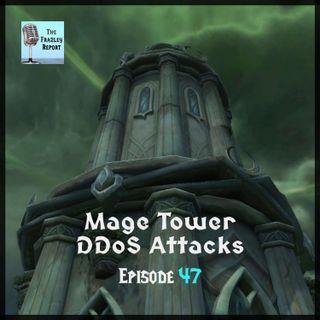 Mage Tower DDoS Attacks