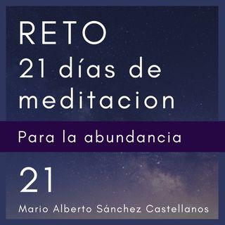 Día 21 del Reto de 21 Días de Meditación para la Abundancia