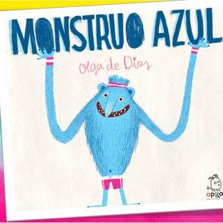 Monstruo Azul, cuento infantil de Olga de Dios