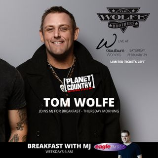 Tom Wolfe Talks New Wolfe Brothers Music, Touring & Farm Life with MJ