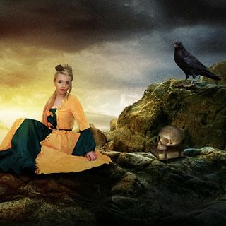 6 The Princess Golden Hair and the Great Black Raven