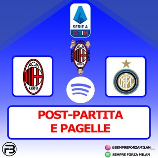 MILAN-INTER 0-3 | PAGELLE e POST-PARTITA