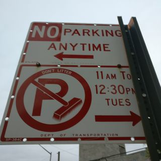 Alternate side parking. Os gusta el jazz?