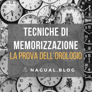21 | DB7 - Tecniche di memorizzazione. La Prova dell'Orologio