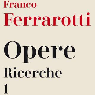 """La parola """"futuro"""" secondo Franco Ferrarotti"""