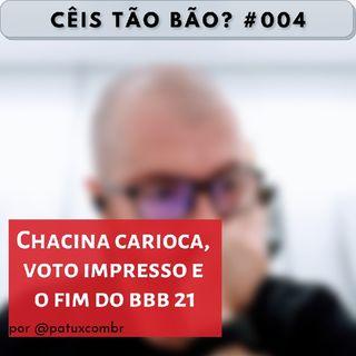 CTB 0004 Chacina carioca, voto impresso e o fim do BBB21