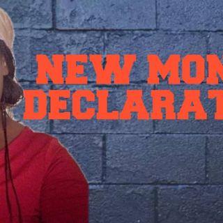 NEW MONTH DECLARATIONS