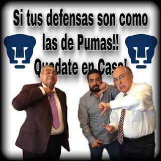 Si tus defensas son como los de Pumas Quédate en casa con Espacio Deportivo de la Tarde 04 de diciembre 20200