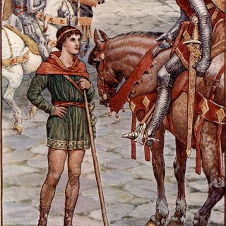Saga de Perceval (comienzo)