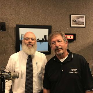 Steve Salander & Tim Zale with the 911 Consolidation