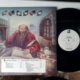Side 1 & 2 Leftoverture (1976) (White Label Promo) for sale on ebay user ID minidisc_rock