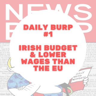 News Burp Short - Ireland's 2022 Budget, Lower wages than most of EU and is Onlyfans over?