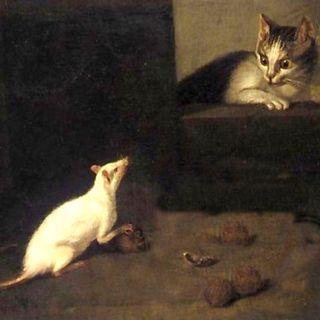Fratelli Grimm: Gatto e topo in società