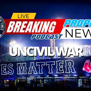 NTEB PROPHECY NEWS PODCAST: Major League Baseball Opens With New York Yankees Kneeling And Boston Red Sox Unveiling Huge BLM Mural