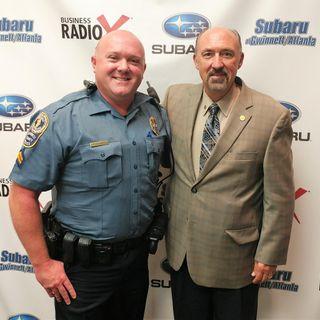 Aaren Dieffenbacher with the Gwinnett County Police Department
